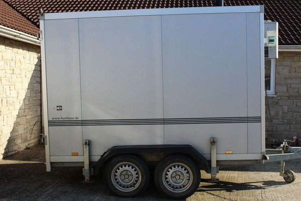 mbaur 3 Metre (10m3) Refrigerated Trailers x 5
