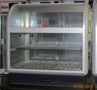 650 Range Curved Front Heated Display Unit