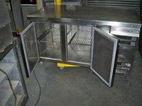 Gram 2 door counter fridge