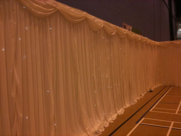 Ivory Star Cloth 3m x 6m Ivory