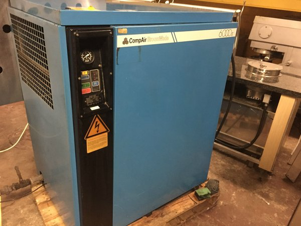 Broomwade CompAir 6000E Compressor - West Sussex