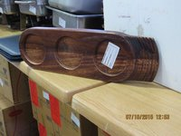 Art De Cuisine Dual Sided Wooden Buffet Trays