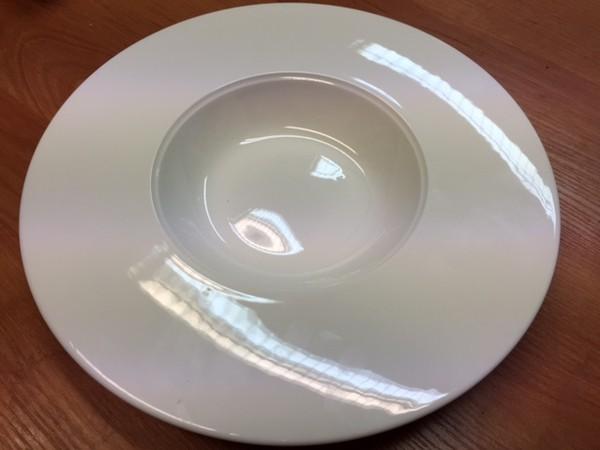Dudson fine china precision deep plate / pasta plate