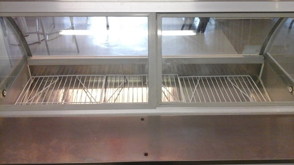 Compact Serve Over Display Chiller