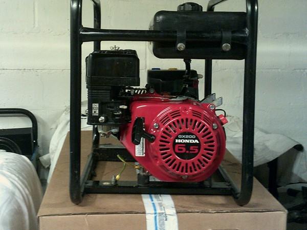 3.4kVA Clarke CP350LR 2800 Watt generator