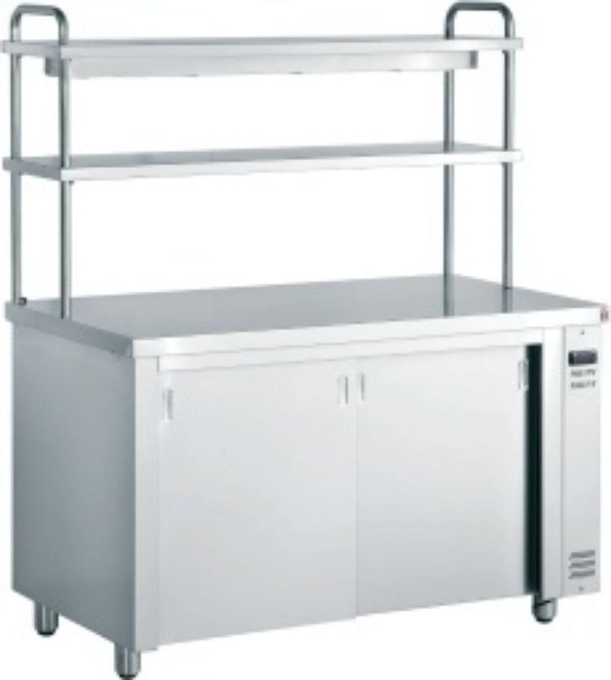 Restaurant Kitchen Pass: Inomak Hot Cupboard With Double Gantry - Hove