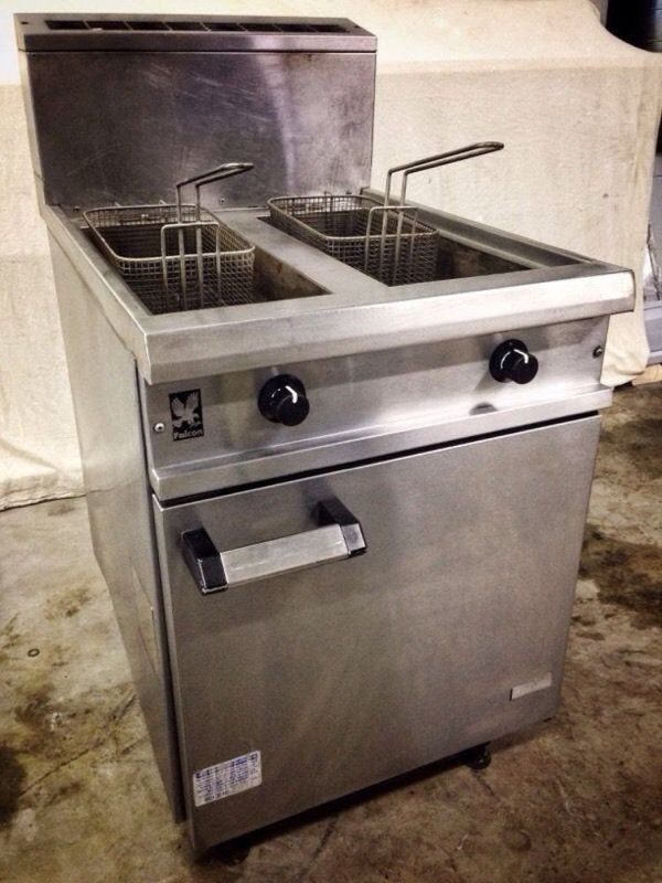 Falcon Chieftain G4818X Twin Tank Professional Catering Gas Fryer