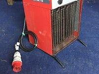 BM2 Arcotherm EK 15 3-phase fan heater