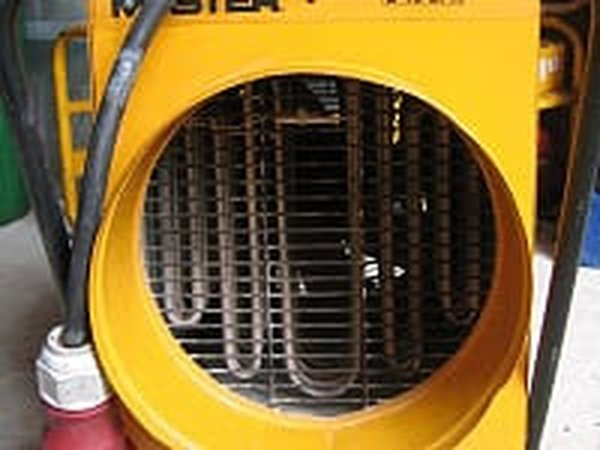 Master 3-Phase Industrial Heater, detail