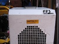 Broughton FF3 Industrial Fan heater
