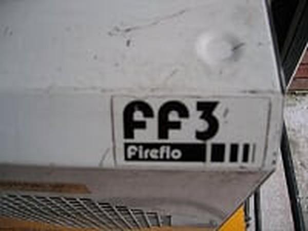 Broughton FF3 Industrial Fan heater detail