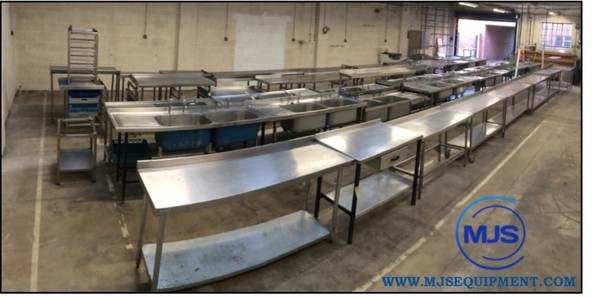 Stainless Steel Sinks, Tables & Stands