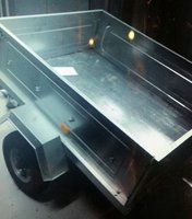 Erde SAS 400kg trailer