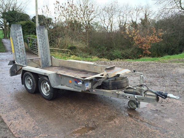 Ifor Williams - GH 94 Twin Axle Plant Trailer