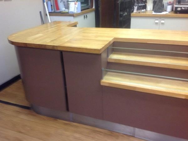 Coffee Shop Display Counter
