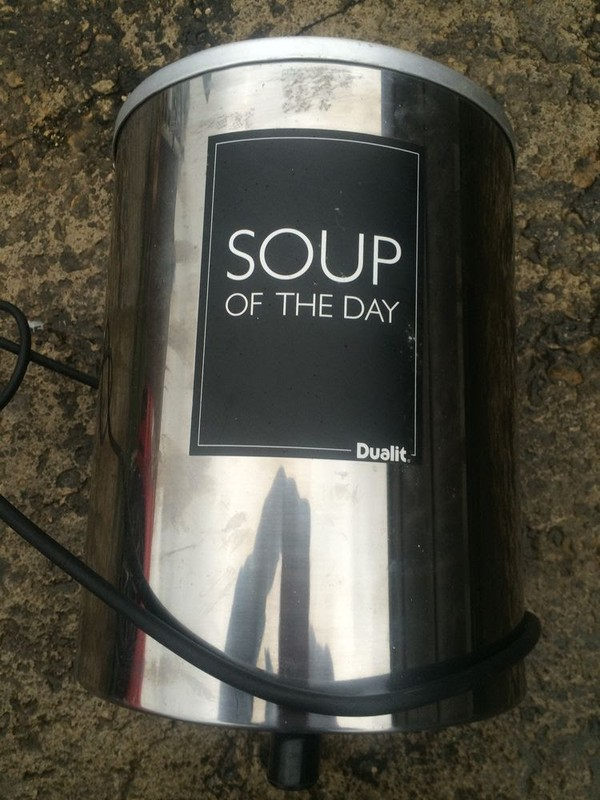 Stainless Steel Dualit Soup Kettle