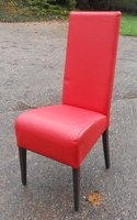 26x Red Dining Chairs