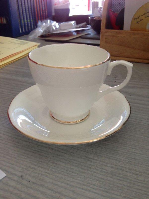 Duchess Bone China Coffee Cup & Saucer