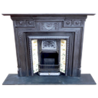 Fully restored Cast Iron Fireplace