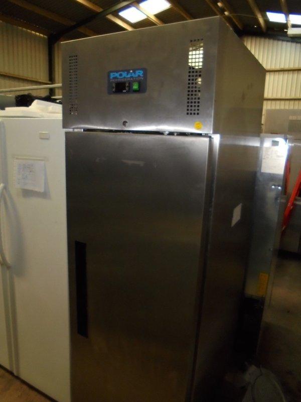 Ex Display Stainless Steel Upright Freezer (3510)