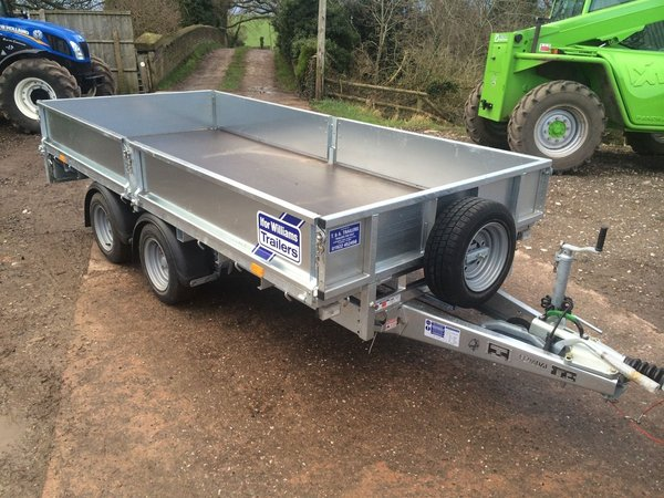 2015 Ifor Williams LM125 12ft Twin Axle Trailer