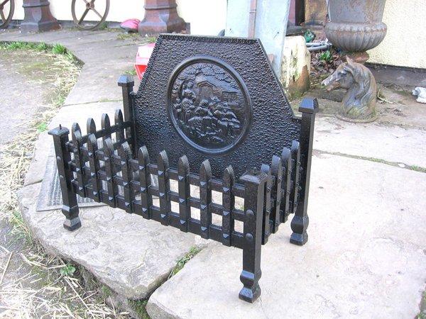 Cast Iron Fire Grate