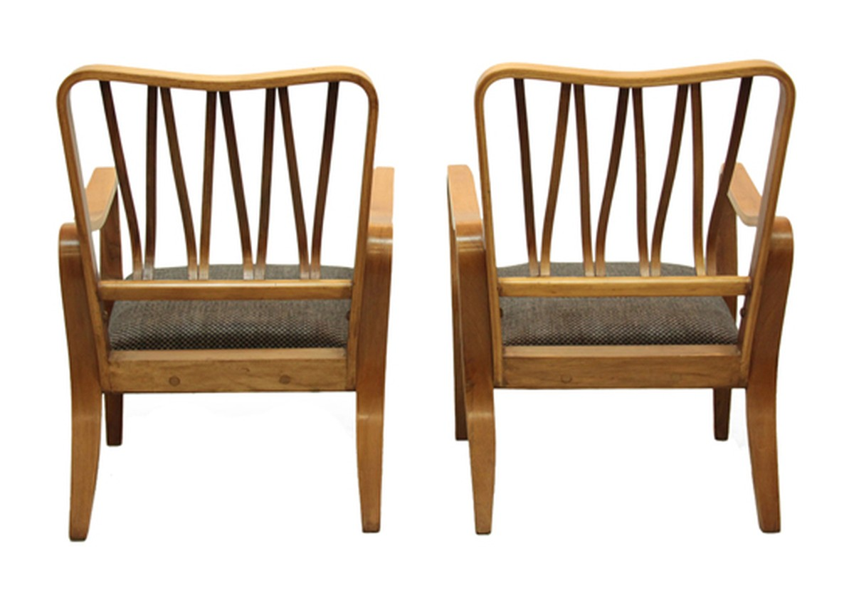 secondhand vintage and reclaimed 40 s vintage mid century chairs