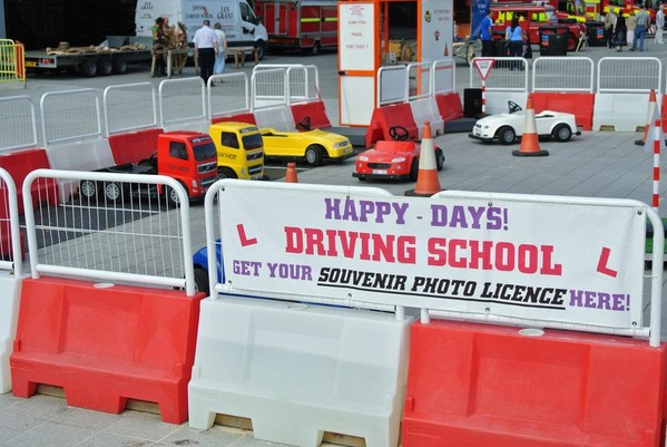 Children's Driving School Attraction