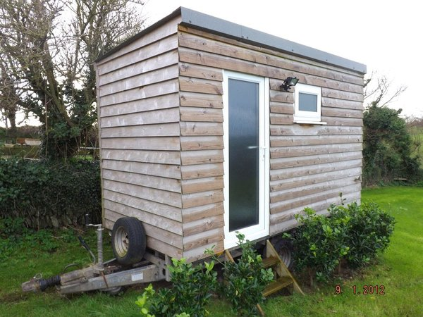 Luxury Glamping Toilet and Shower Trailer
