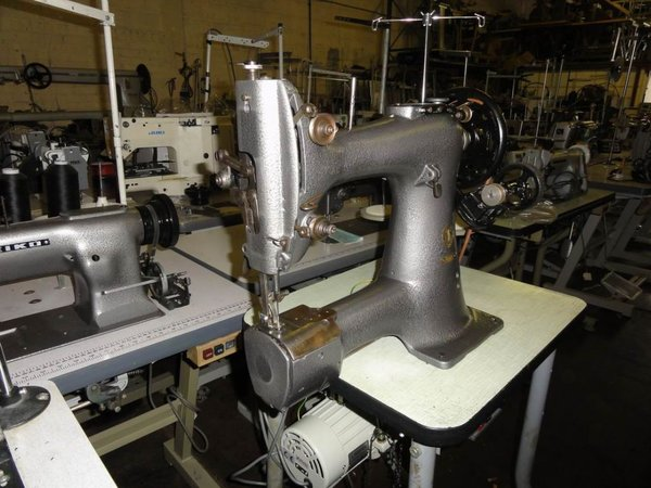 Cylinder arm heavy duty sewing machine