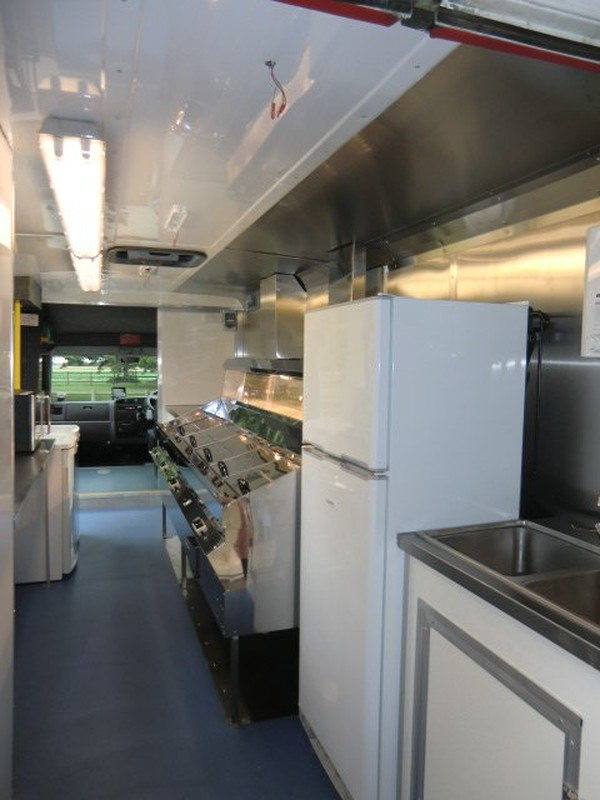 mobile fish and chip shop for sale