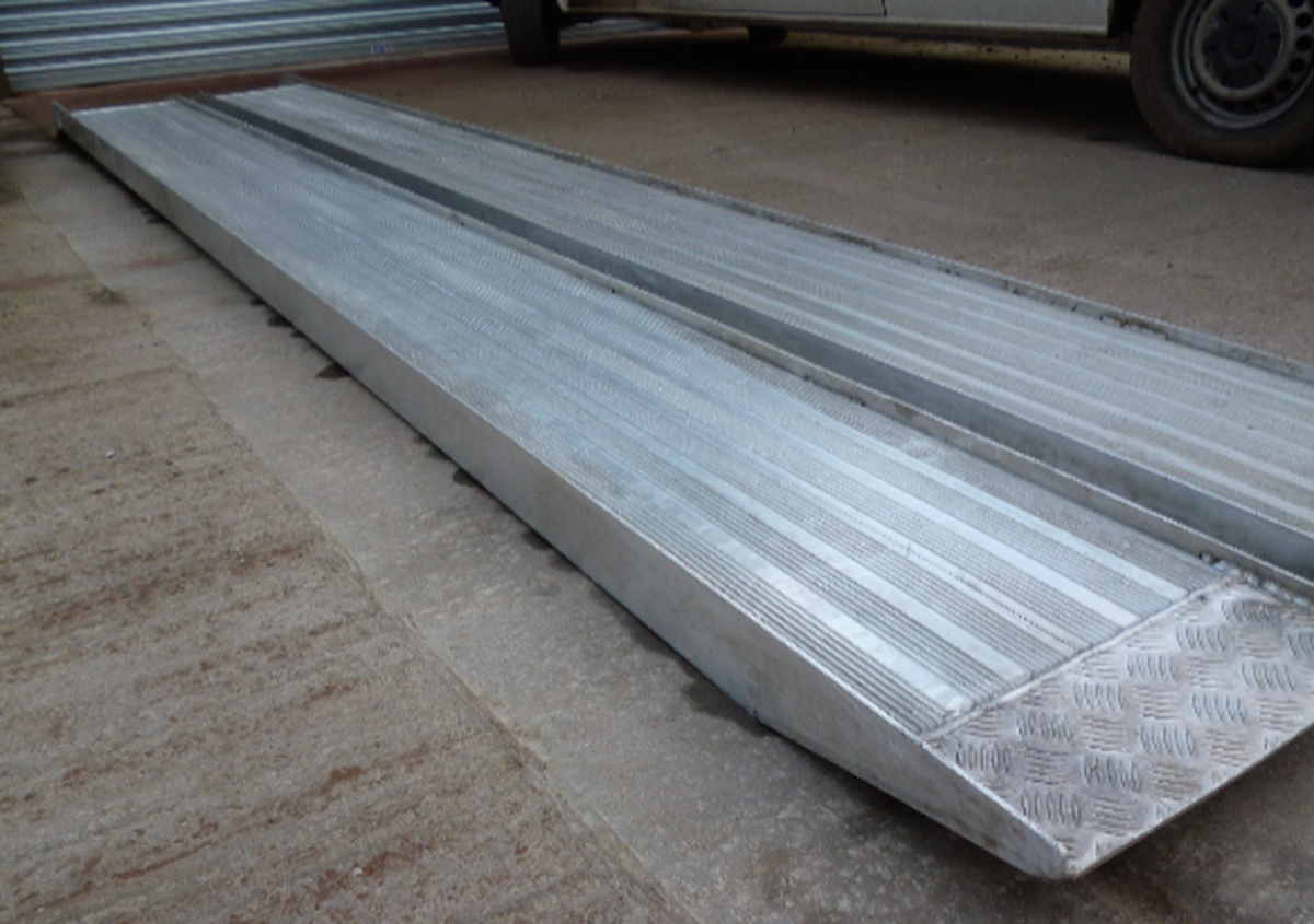 Secondhand Trailers Car Transporters Aluminium Loading Ramps
