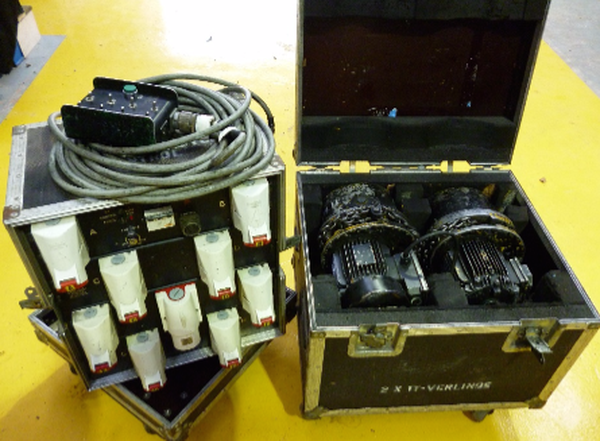 Verlinde Electric Hoists c/w Controller