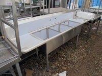 Brand New Triple Stainless Steel Sink (3536)