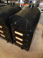 Brand New Gas Potato Oven (3539)