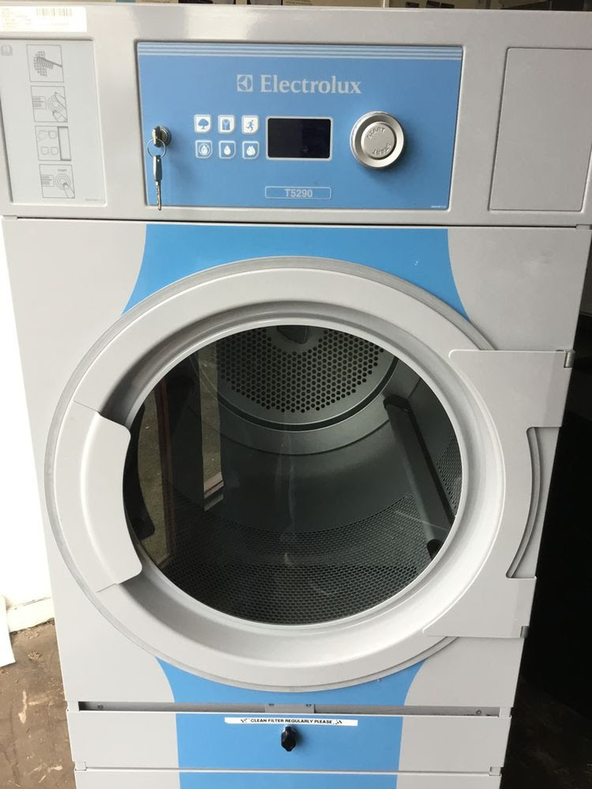 Secondhand Laundry Equipment Electric Dryers