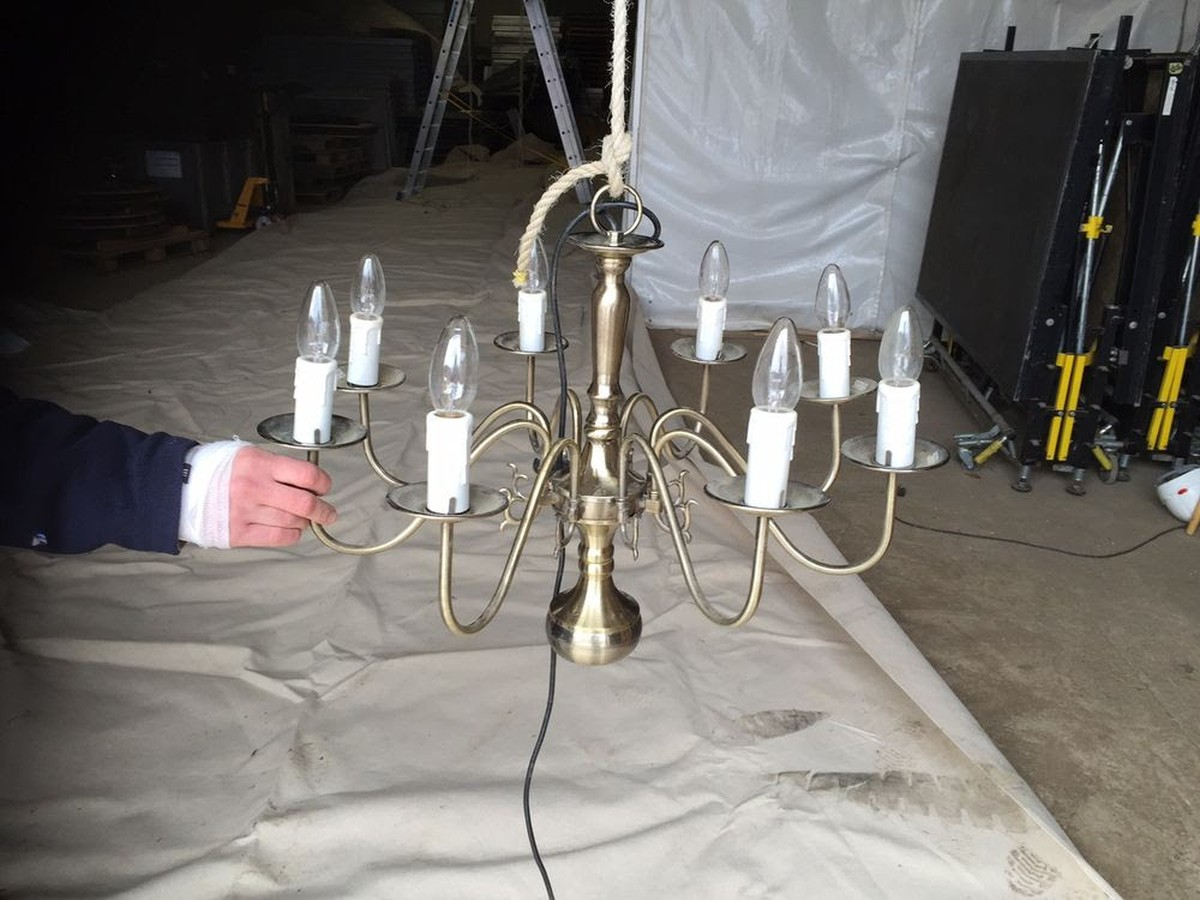 Curlew secondhand marquees marquee chandeliers 8 arm zurich 8 arm zurich antique brass chandeliers aloadofball Choice Image
