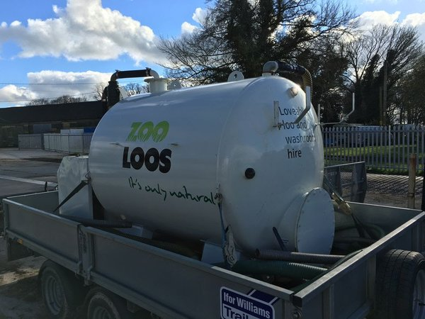 Rapide 600 Gallon Waste Only Vacuum Tank