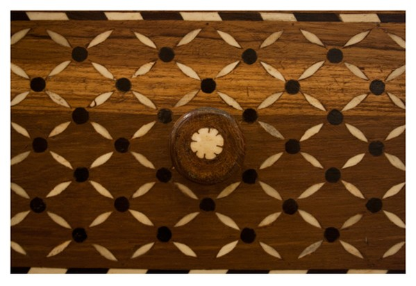 1920's Bone Inlay Sideboard with Drawers from Gujarat