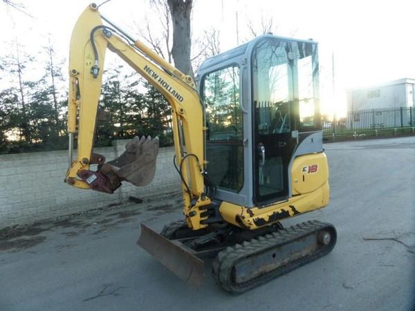 New Holland E18 Diesel Mini Excavator