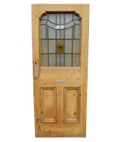 1920's Stained Glass Door