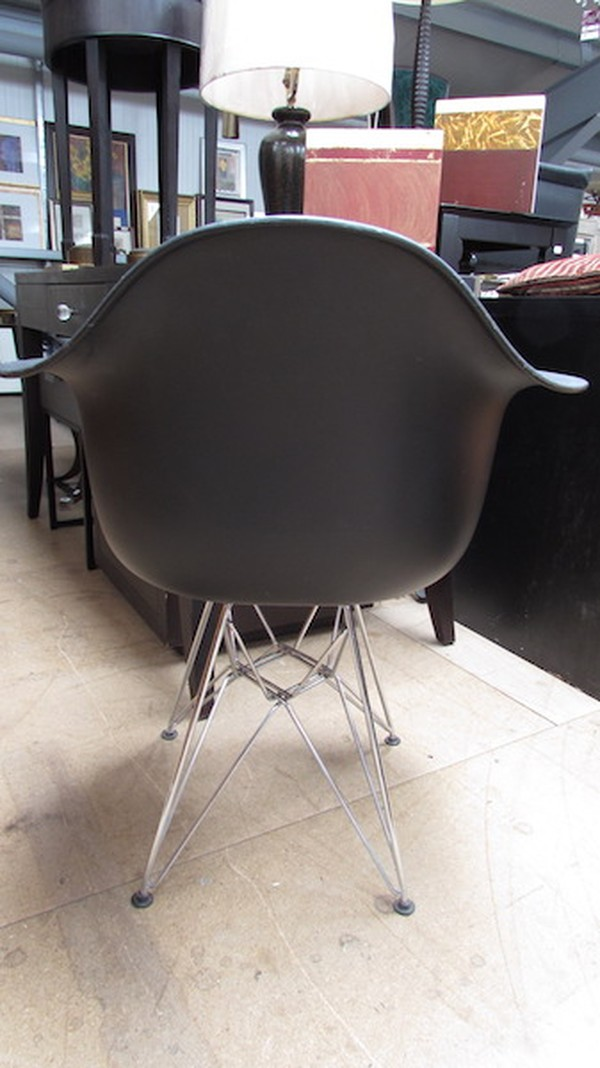Pair Charles Eames Style Chairs