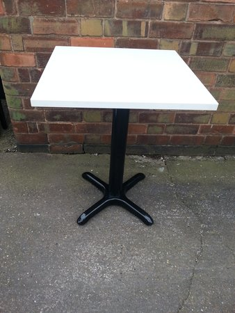 "12 No. 24"" Sq Tables - New"