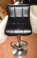 5 Black Bar Stools