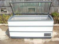 Novum style glass top freezer