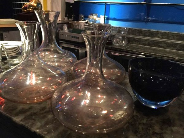 4 Decanters/Water jugs