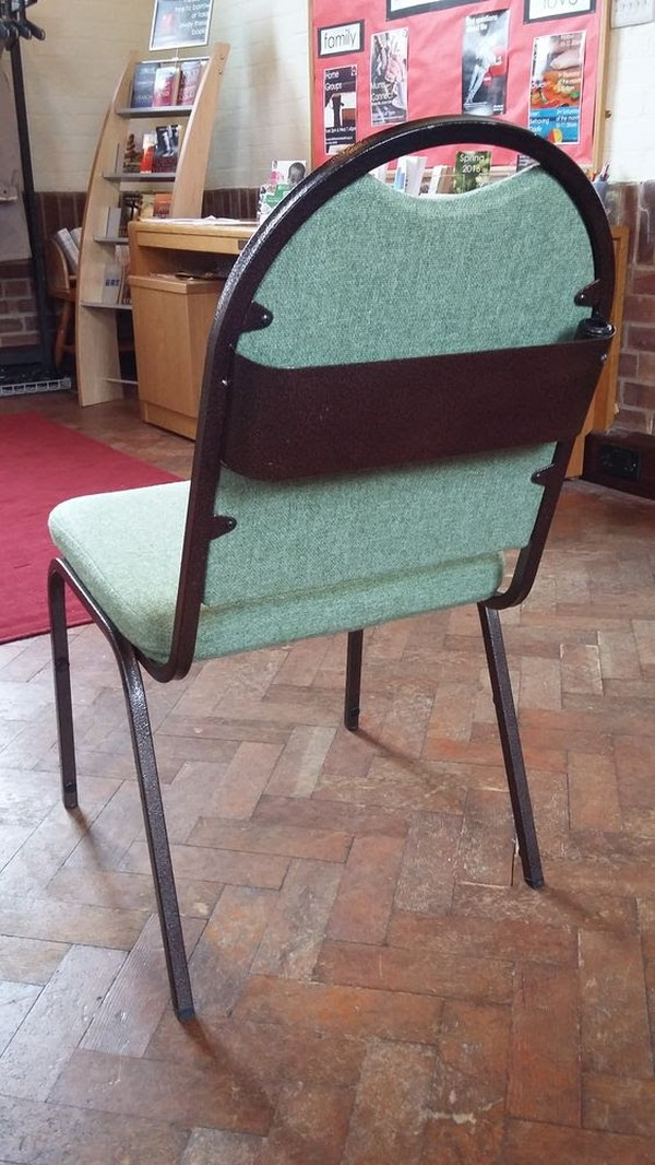 85x Padded Upholstered Alpha Furniture Chairs