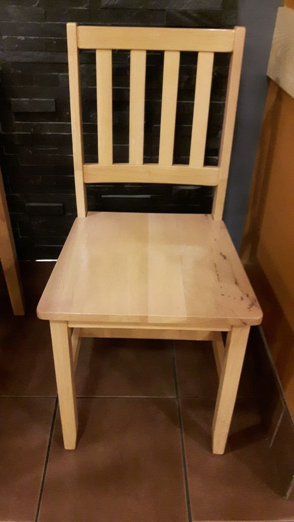 36 Indoor Rubberwood Cafe chairs.