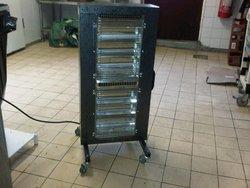 6x Ambirad Heaters 2 Settings 2.3 kw - Kent