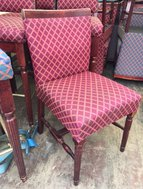 Red Pub Chairs